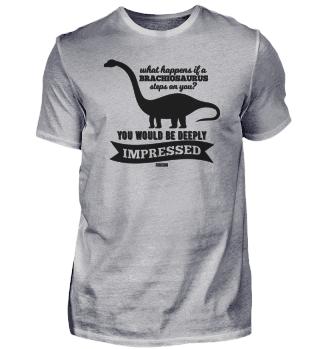 Brachiosaurus dinosaur long neck saying