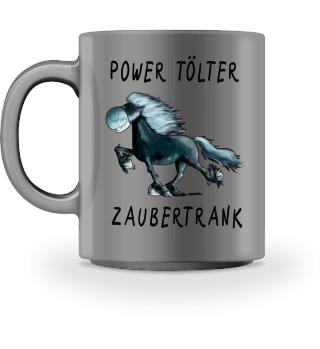 Funny Power Tölter Islandpferd Tasse