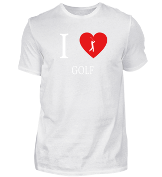 I Love - Golf Golfen