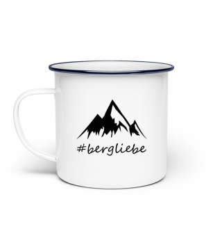 Bergliebe - Emaille Tasse