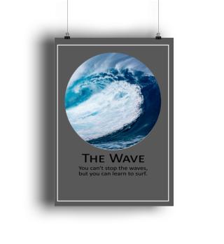 The Wave ..Motivation Wall Art
