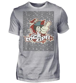 Die Rockzipfl Fan Shirt Farbe Used-Look