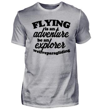 Flying is an adventure, be an explorer!