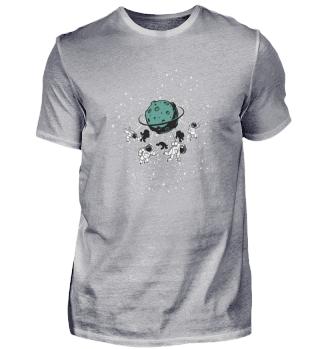 Astronaut, Planet, Space