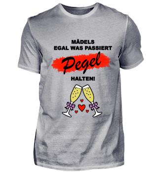 JGA Mädels Pegel halten
