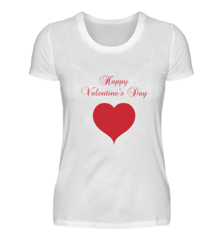 Saying Happy Valentine's Day