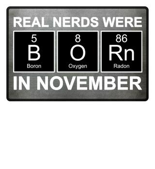 Periodic Elements - BORN november white