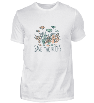 Nature, Ocean, save the reefs