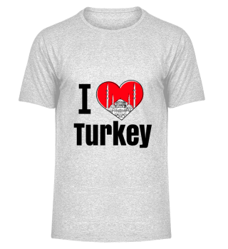 D001-0077B I love Turkey / Türkei