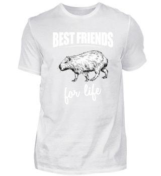 Best Friends For Life - Capybara For Eve