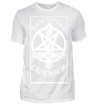 INVERTED CROSS by BLACKNESS CLOTHING
