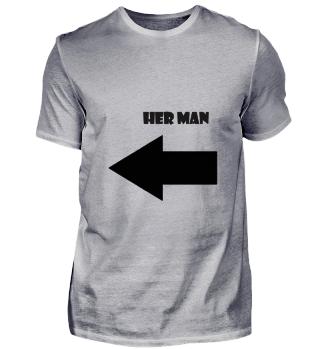 her man valentines day partner shirt