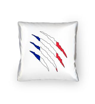 Frankreich Flagge WM Kissen Geschenk