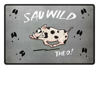 Sauwild Theo Wildschwein Matte