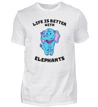 Elephant life beautiful gift