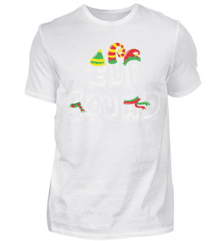 ELF SQUAD CHRISTMAS T-SHIRT
