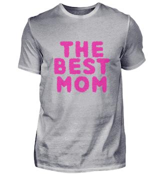 THE BEST MOM! Muttertag Geschenk