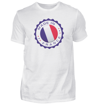 Made in FRANCE Modern Seal FRANCE Flag product