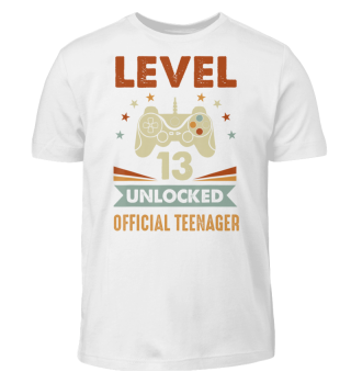 Official Teenager 13th Birthday T-Shirt