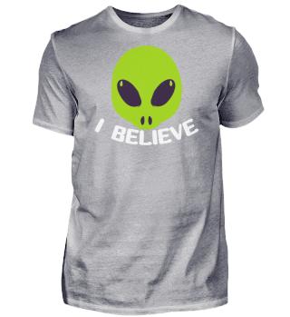 I Believe In Alien Saying Aliens