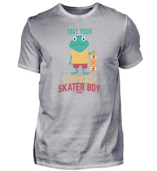 Frog Skateboard Children Boy Baby