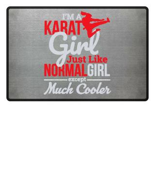 Martial Arts - I'm a Karate Girl Grunge
