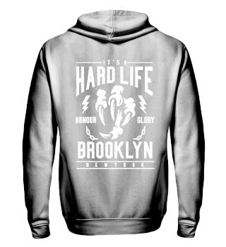 Herren Zip Hoodie Sweatshirt Brooklyn Ramirez