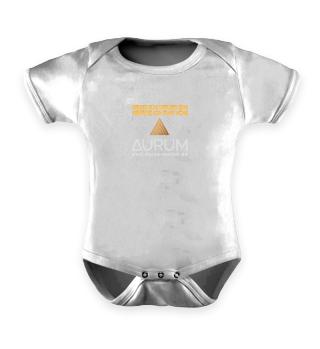 Babystrampler schwarz mit Logo