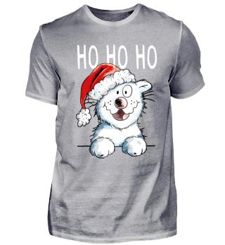 Ho Ho Hoo Katze I Weihnachten
