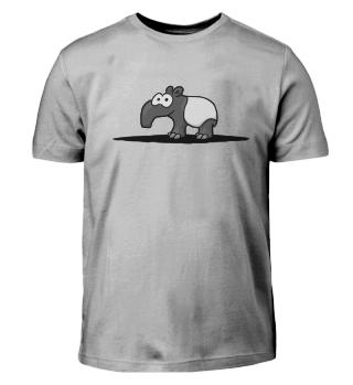 Cute Comic Tapir | Süßer Schabracken-Tapir