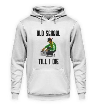 Old School Hip Hop Shirt 80s 90s (BK)