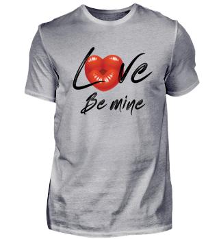 Love Be Mine Valentinstag Geschenkidee