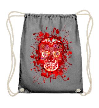 Funny Mexican Sugar Skull rot bunt