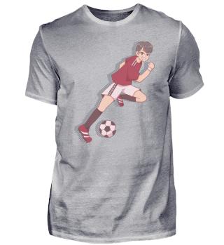 Fussball Sport Junge Trikot Anime Manga