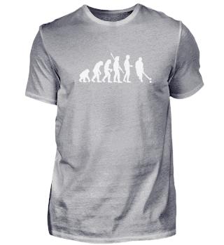 Geschenk Hockey: Evolution Hockeyspieler
