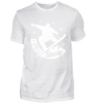 Snowboarder I Smell Snow | Winter Holiday