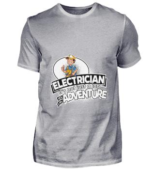 D001-0309A Proud Electrician Elektriker