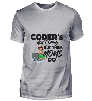 D001-0195B Proud Coder Programmierer - T