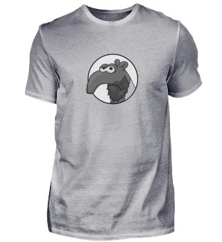 Bärtiger Hipster Tapir