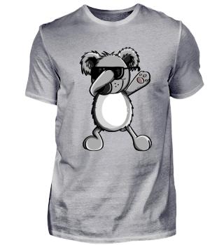 Cooler Dab Dance Koala I Comic