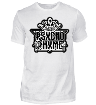 Herren Kurzarm T-Shirt Psycho Rhyme Ramirez