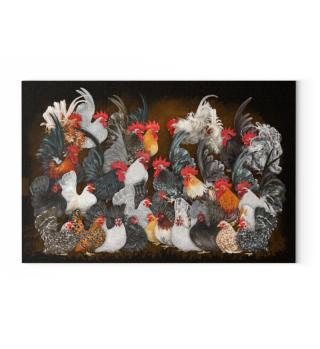 Chabo mosh pit Canvas 45x30