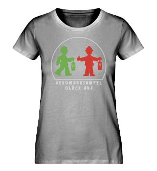 Damen Bio-Shirt – GLÜCK AUF