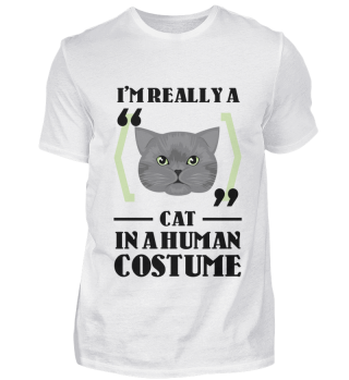 D007-0100A I'm really a Cat in a human c