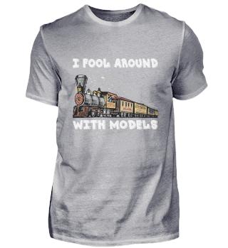 Railway steam locomotive model train