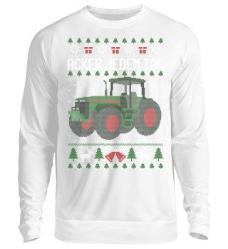 Ugly Christmas Sweater - Acker jeden Tag