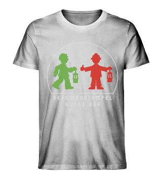 Herren Bio-Shirt – GLÜCK AUF