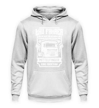 LKW-Fahrer · Mittelfinger