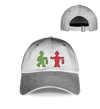Baseball Cap bestickt – Bergmannsampel