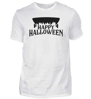 Happy Halloween screw head creepy gift